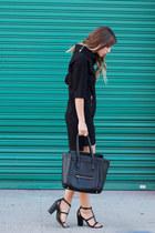 black Komarov dress