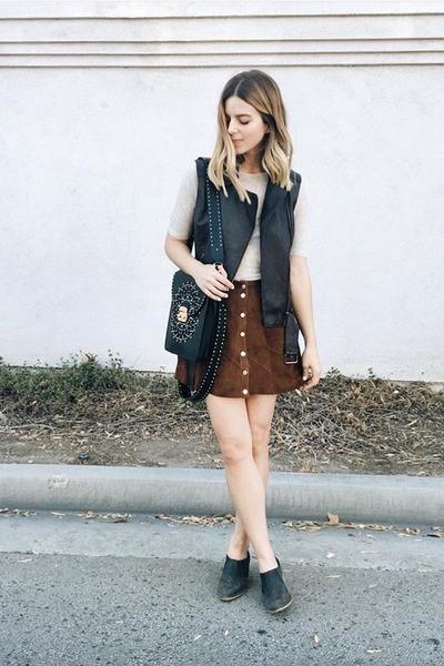 leather Furla purse