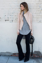 leather vince jacket