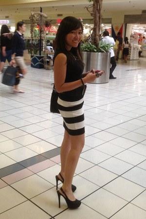 Forever 21 heels - Zara bag - Forever 21 skirt - Mphosis top