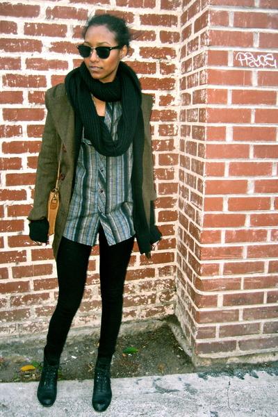 black Forever 21 scarf