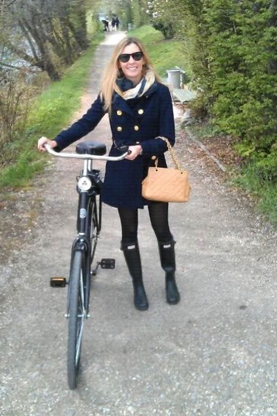 Hunter Boots Forever 21 Coats Zara Scarves Chanel Bags