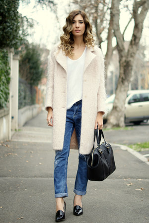light pink H&M coat