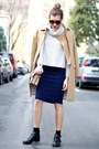Navy-the-city-rack-skirt