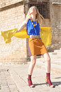 Black-bought-in-lhasa-jacket-blue-marni-for-hm-dress
