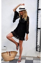 black ella delor dress
