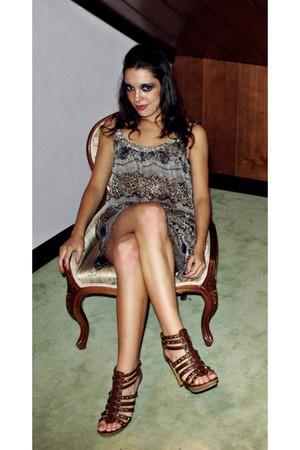 Breskha dress - heeled sandals shoes