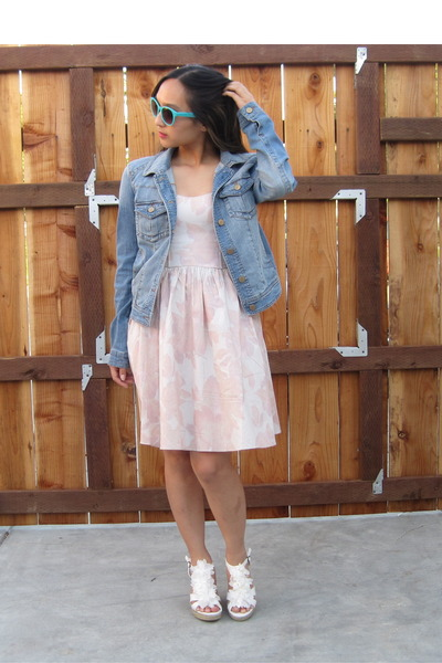 Cream H&m Dress Blue Jean