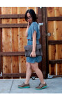 Light-brown-wingtip-cole-haan-shoes-turquoise-blue-lush-dress