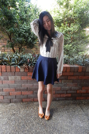 from japan blouse - Valleygirl shoes - Chic a booti skirt