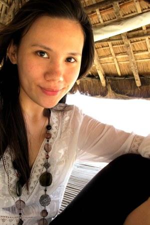 ivory kaftan Accessorize dress