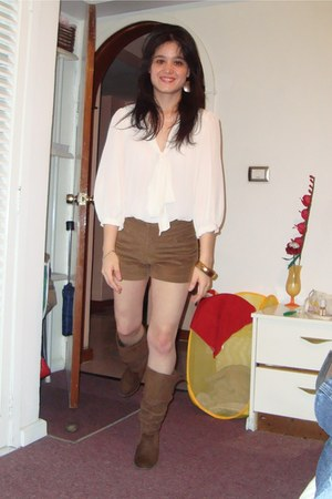 corduroys Bershka shorts