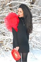 black cotton six&seven dress