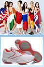 White-synthetic-mesh-reebok-shoes
