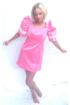 pink milk vintage dress