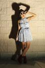 Pacsun-dress-pacsun-glasses-charlotte-russe-wedges