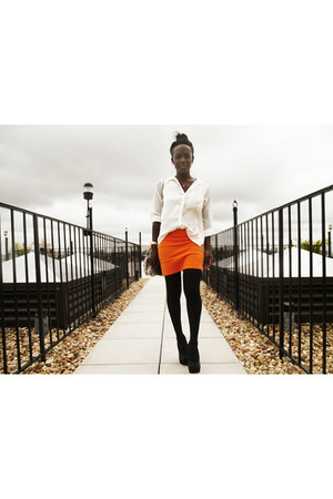 Zara skirt - H&M shirt