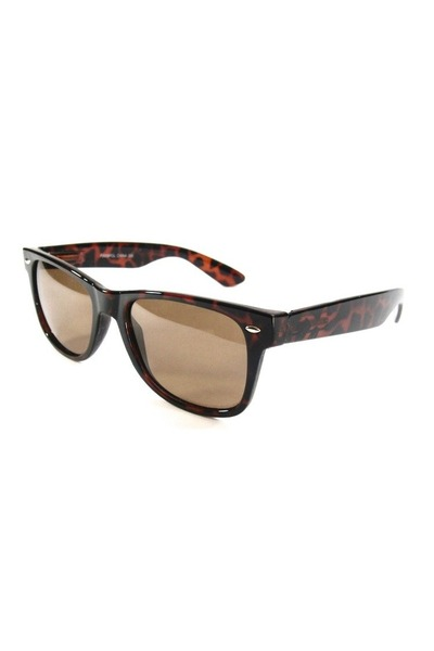 dark brown acrylic sunglasses