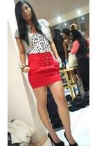 Zara skirt - Newlook blouse