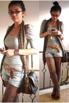 Bayo blazer - Zara bag - H&M belt - People are People wedges
