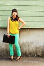Green-marni-for-h-m-necklace-aquamarine-ann-taylor-pants