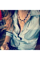 spikes Rocker Chic necklace