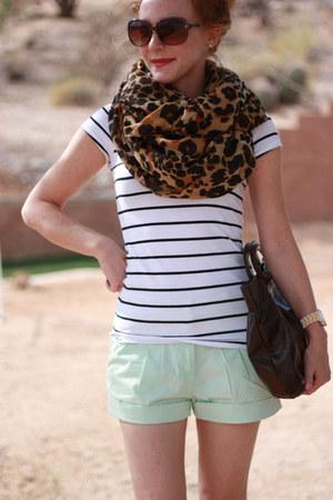 H&M shorts - H&M shirt - H&M scarf