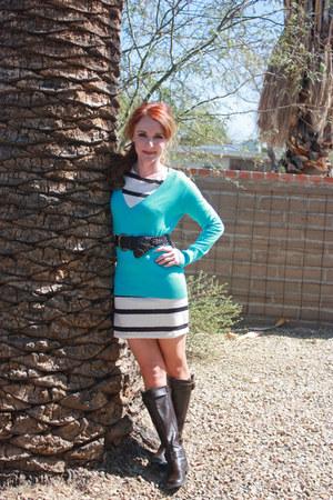 aerosoles boots - Forever 21 dress