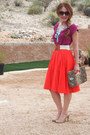 Jardin-skirt-jcrew-skirt-bubble-necklace-jcrew-necklace