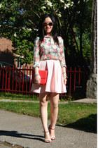 light pink Black Bead skirt