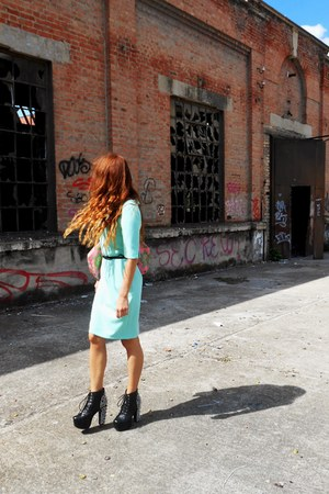 Jeffrey Campbell boots - Orsay dress