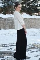 black unknown skirt