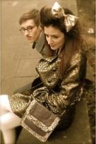 Topshop accessories - asos coat - Primark accessories