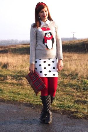 F&F sweater - Primark boots
