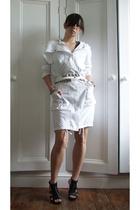 helmut lang anorak jacket - Zara belt - Nine West shoes
