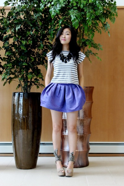 Forever 21 shirt - Gap shoes - Urban skirt
