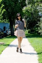 Aldo shoes - H&M shirt - Urban Outfitters skirt - asos purse