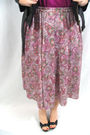 Black-charlotte-russe-jacket-purple-shirt-purple-vintage-skirt-black-bcbg-