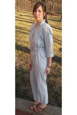 blue miskabelle for marketpubliquecom pants - brown Candies shoes - silver vinta