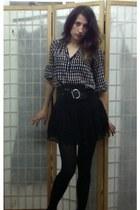 Forever 21 skirt - calvin klein blouse