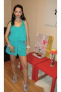 Turquoise-blue-ny-co-romper-tan-coach-bag-light-purple-topshop-heels