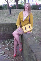 H&M shoes - satchel Primark bag - Urban Outfitters cardigan - Topshop top - asos