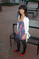 Gabriella Rocha shoes - JCrew sweater - Charlotte Russe stockings - Kimchi Blue