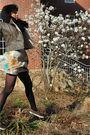 Gray-forever-21-jacket-black-american-apparel-scarf-beige-odille-skirt-bla