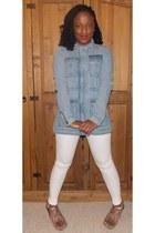 Internacionale boots - Topshop jeans - H&M jacket