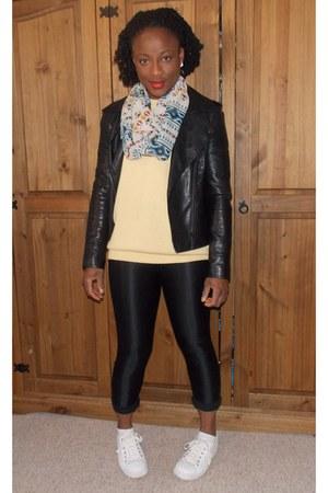 Internacionale jacket - Jeffrey Campbell shoes - Internacionale scarf