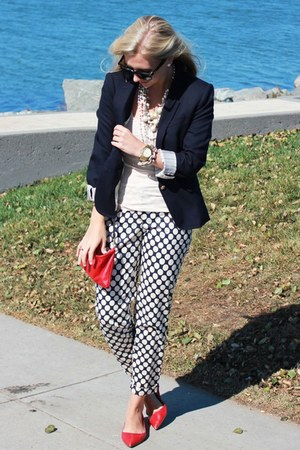 Jcrew pants - Jcrew blazer