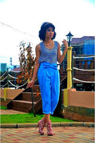 iconia - blue iconia pants - pink GoJane