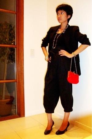 vintage blazer - pants - shoes