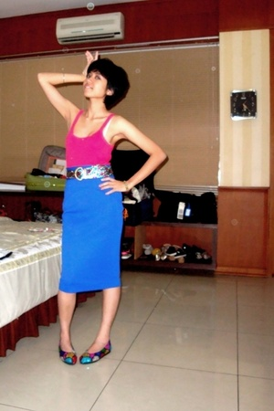 top - Sports Girl skirt - Bali shoes